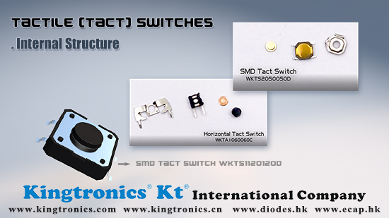 Kingtronics-Best WKT series Tactile Switches(DIP type or SMD type) for your Keyboard - Switch and Click