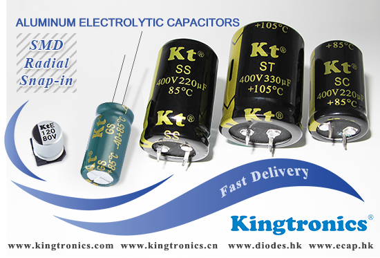 Kingtronics New order plan for the half of year 2020-- Short Lead Time Aluminum Electrolytic Capacitors
