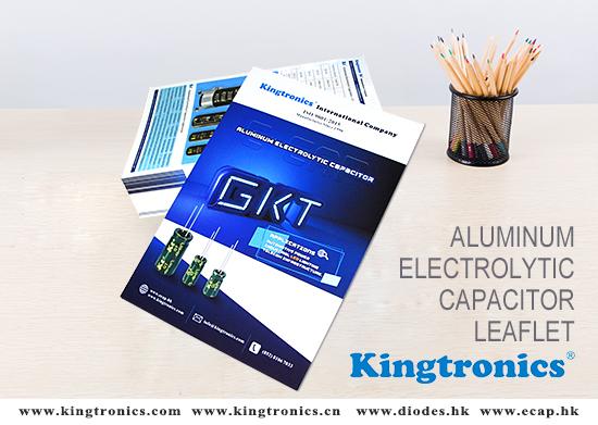 Kingtronics update new Catalog for Aluminum Electrolytic Capacitor