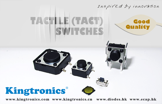 Kingtronics offer Good quality of Tactile Switch