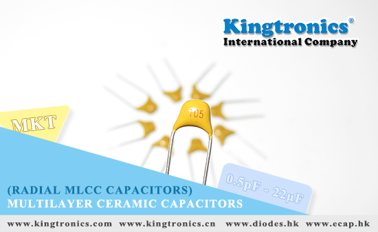 Kingtronics' good lead time support for Multilayer ceramic capacitors (MLCC)