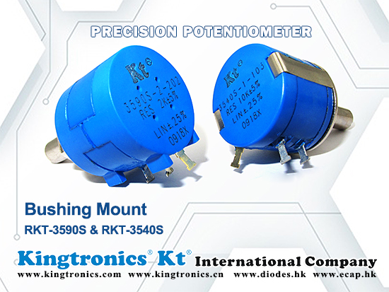 Kingtronics Precision Potentiometer –RKT-3540S and RKT-3590S