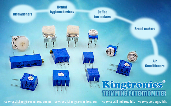 Kt Kingtronics Trimming Potentiometer Applications