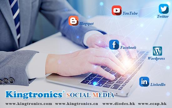 Kingtronics-Follow Kingtronics from different Social Media today