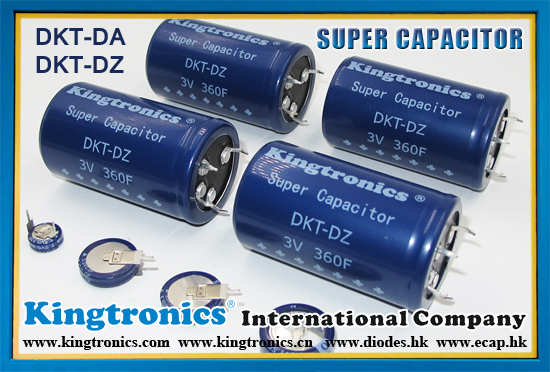 Kt Kingtronics Super Capacitors
