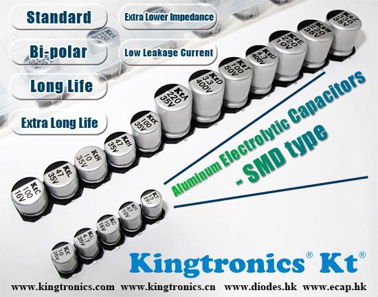 Aluminum Electrolytic Capacitors,Surge,470uF 16v 20/%,85*C,Radial,10 Pcs