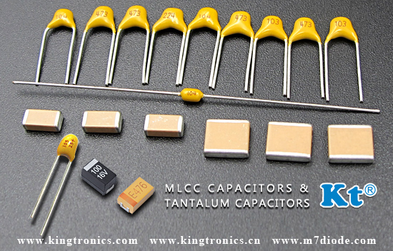 Low ESR Chip Tantalum Capacitors