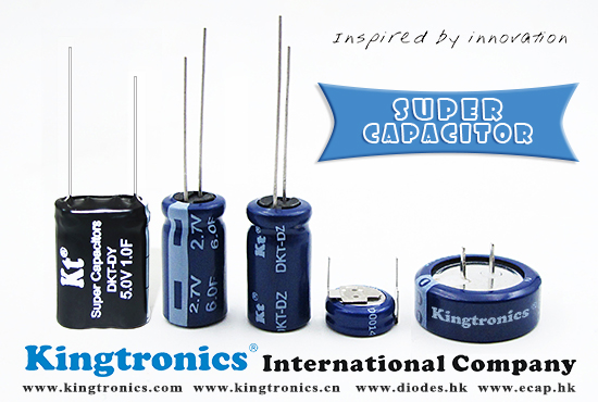 Kt Kingtronics Sharing More Information about Super capacitor with You