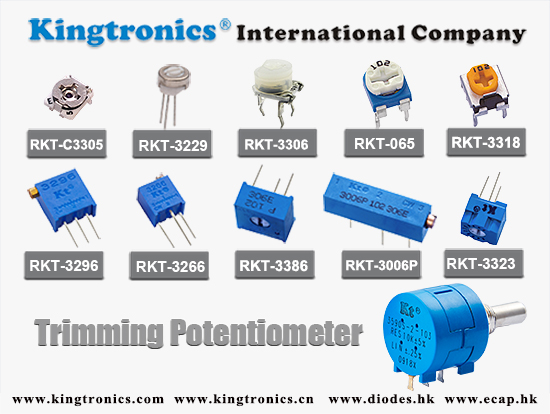 Kingtronics--Your best choice of Trimming Potentiometers