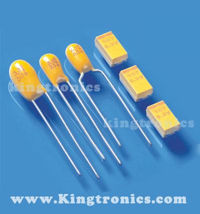Dipped Tantalum Capacitor Radial Lead 20 pcs 6.8uf 35V 10/%